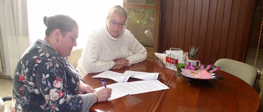 Firma Convenio Ayuntamiento