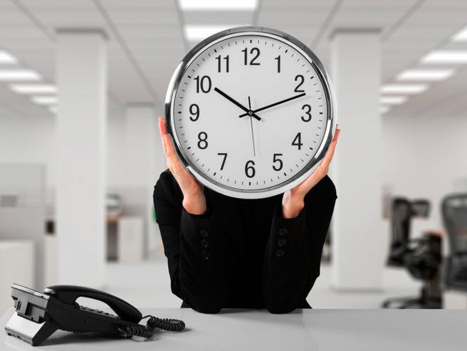 Control jornada laboral